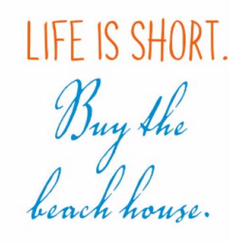 #9766 Life is Short Tea Towel