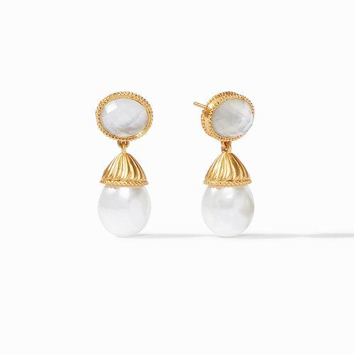 #8524 Olympia Pearl Earring