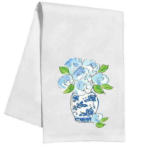 #11757 Hydrangea Vase Towel