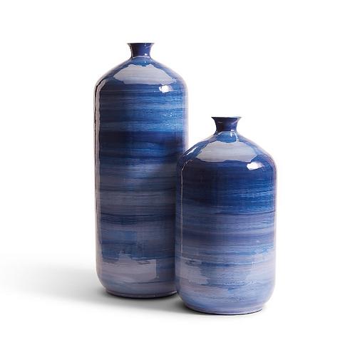 #11552 LG Striated Vase