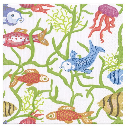 #11733 Luncheon Napkins (Tropical Reef)