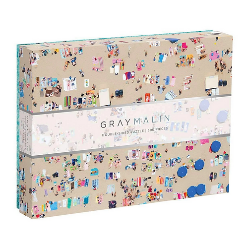 #9831 Gray Malin Double Sided Puzzle