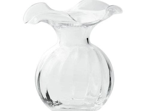#6411 Hibiscus Bud Vase (Clear)