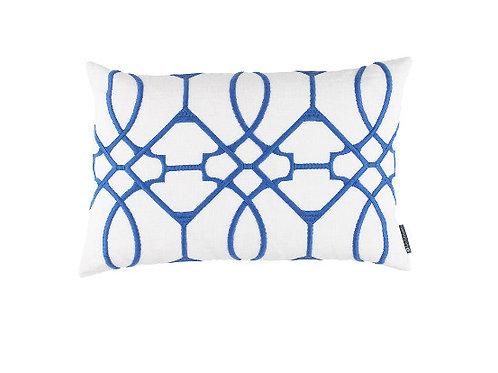 #12158 Vermillion Embroidery Pillow