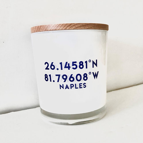 #12046 Naples Coordinates Candle