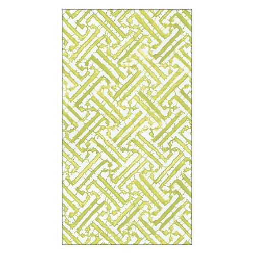 #11735 Guest Towel Napkin (Fretwork Green)