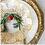 Thumbnail: #10854 Rufolo Glass Gold Flower Bowl