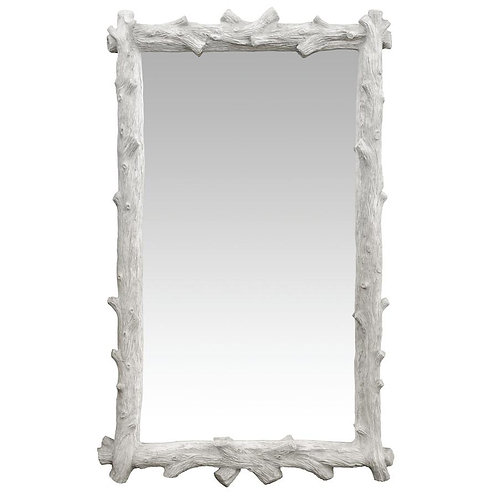 #577 Faux Boix Mirror