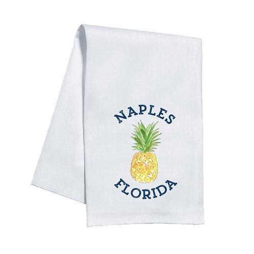 #11813 Naples Pineapple Towel