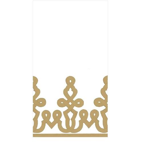 #11726 Paper Linen Guest Towel Napkins (Gold)