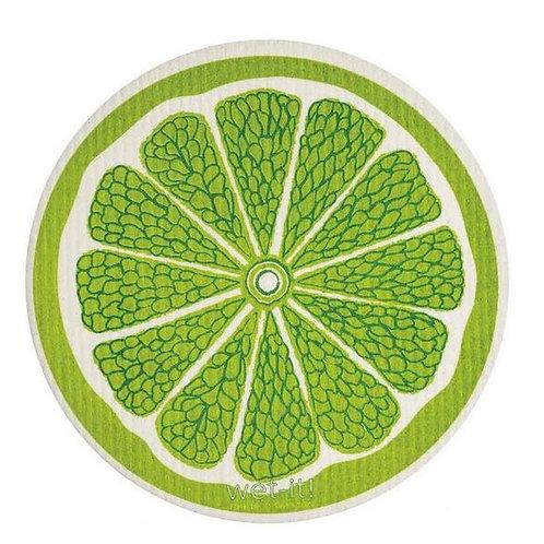 #9951 Round Lime Swedish Dishcloth