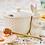 Thumbnail: #9937 Bunny Honey Dipper Pot