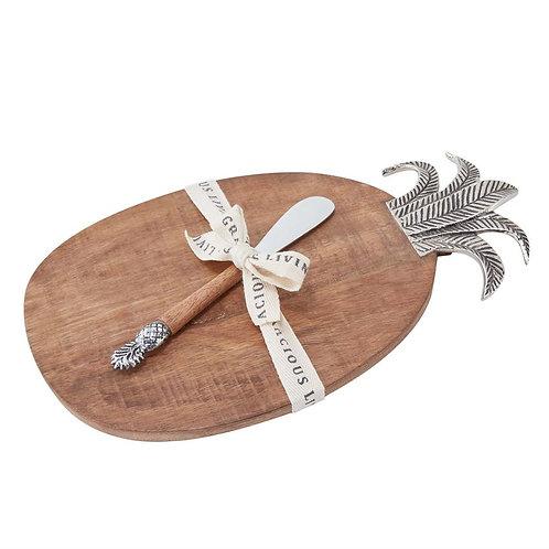 #11816 Pineapple Wood Board Set