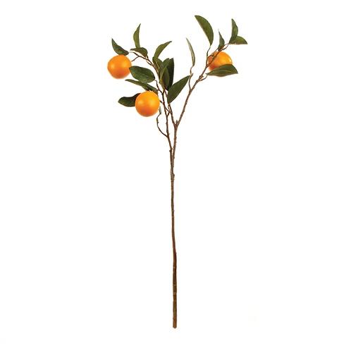 #5439 Set of 3 Orange Branches