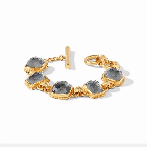 #11930 Savoy Demi Bracelet (Charcoal Blue)