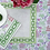 Thumbnail: #8108 Chain Green Jute Placemat, Set of 4