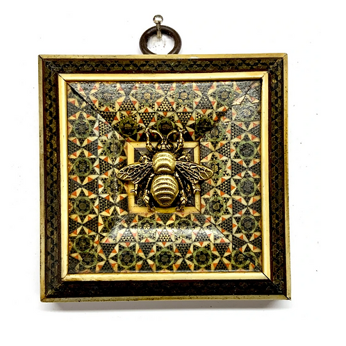 #9893 Micro Mosaic Frame with Grande Bee