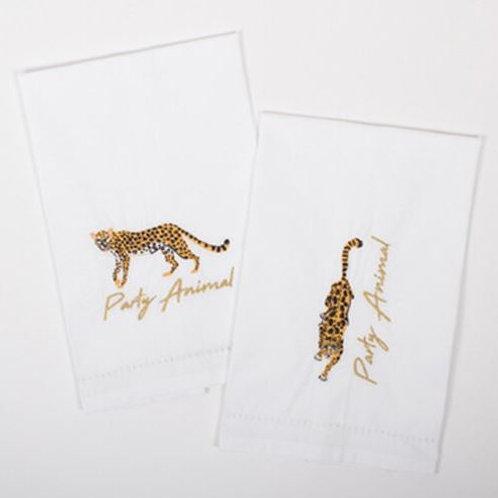 #10280 Cheetah Bar Towel
