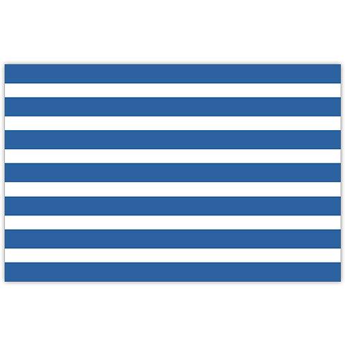 #10158 Blue Cabana Stripe Placemats