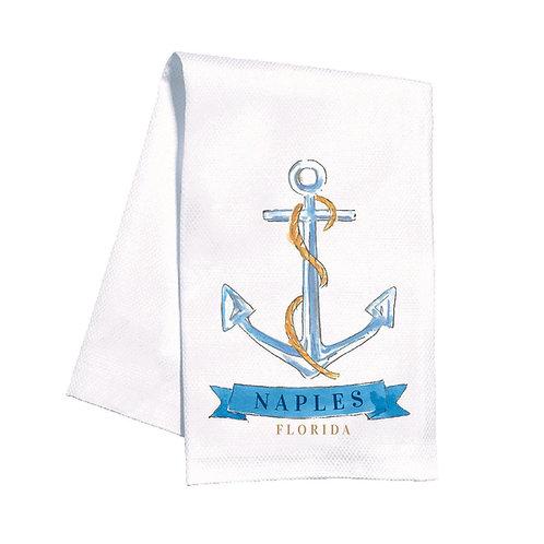 #11811 Naples Anchor Towel