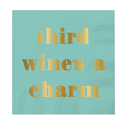 #11797 Third Wine Napkin