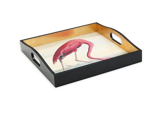#5460 Audubon Tray (Flamingo)