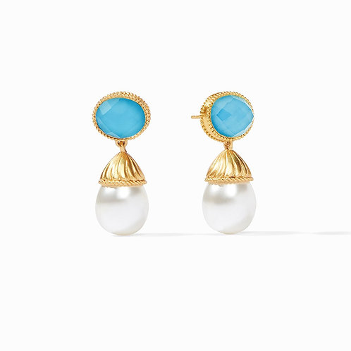 #8525 Olympia Pearl Earring