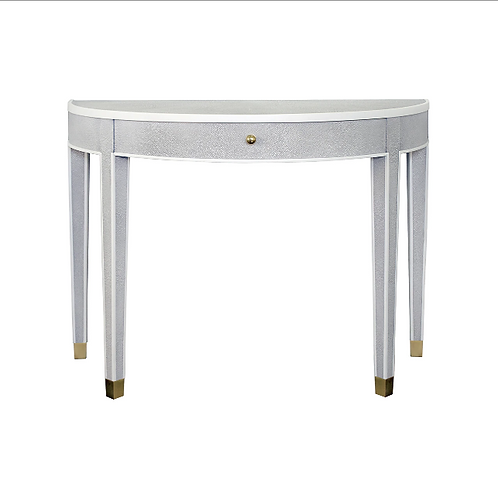 #11534 Demilune Console Table