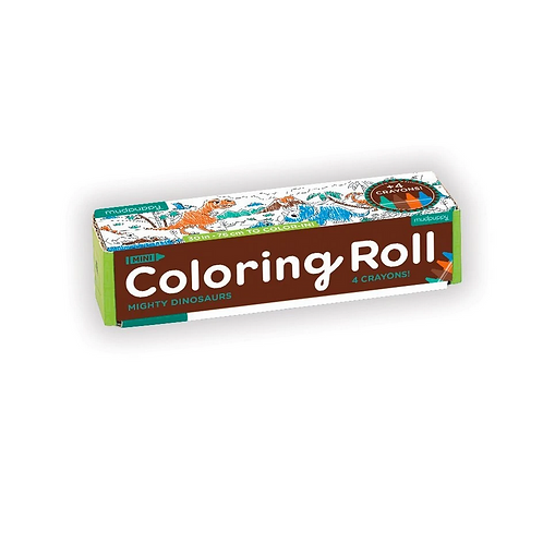#9829 Mighty Dinosaurs Mini Coloring Roll
