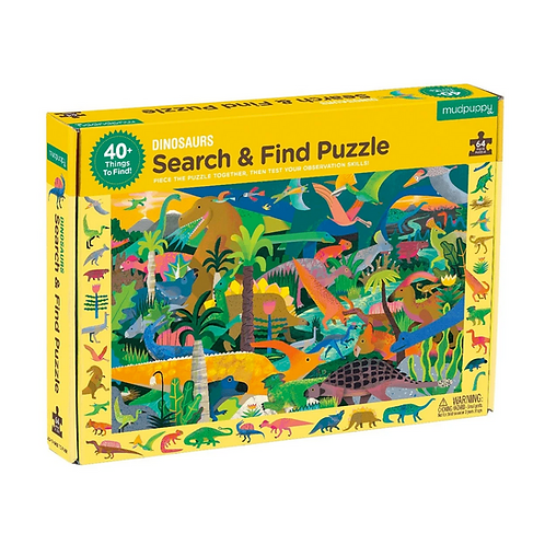 #9838 Dinosaurs Search & Find Puzzle