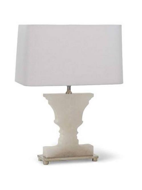 #3542 Alabaster Urn Lamp