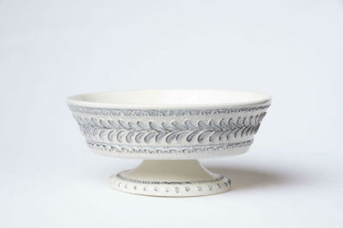 #6409 Mosaic Footed Centerpiece