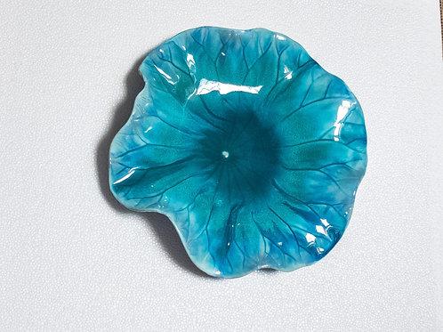 #11627 Sm. Lotus Leaf Plate