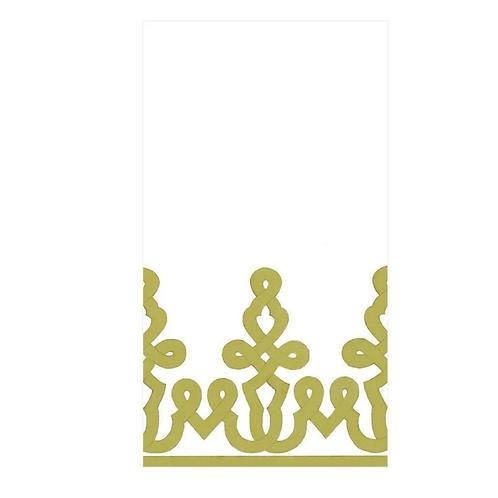 #11722 Paper Linen Guest Towel Napkins (Green)