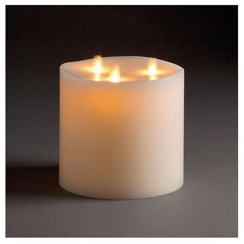 #9726 Flame Pillar 6x6