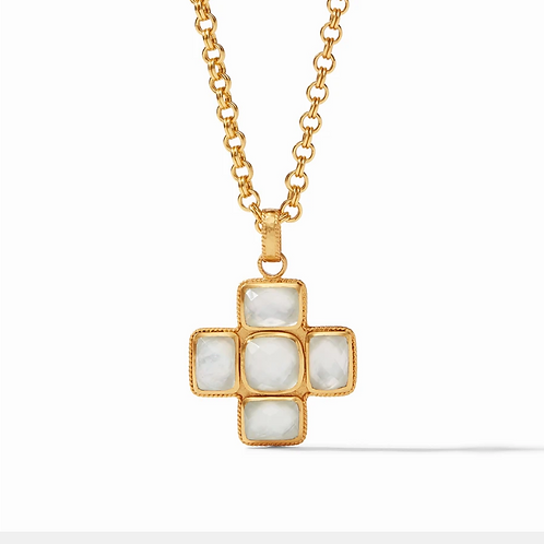 #11936 Savoy Pendant Necklace (Clear Crystal)