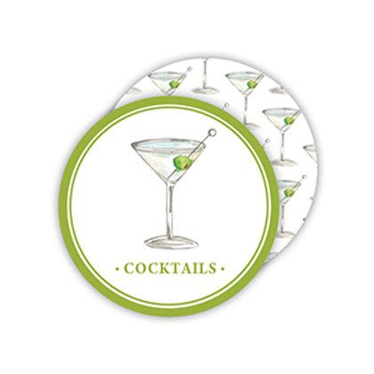 #11778 Cocktails Martini Coaster