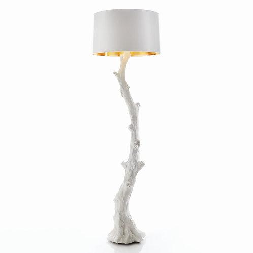 Faux Bois Floor Lamp