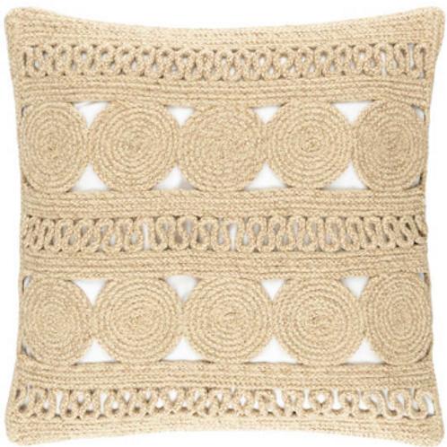 #12098 Round Turn Pillow (Natural)