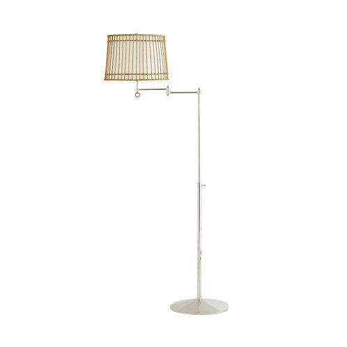 #10296 Rattan Island Floor Lamp