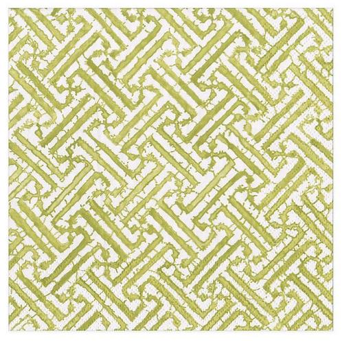 #11731 Luncheon Napkins (Fretwork Green)