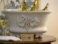 #2272 Oval grape leaf tub