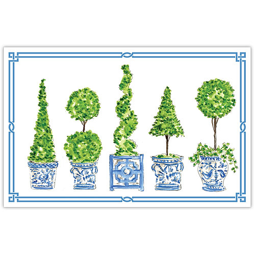#11788 Topiary Placemats