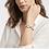 Thumbnail: #11930 Savoy Demi Bracelet (Charcoal Blue)