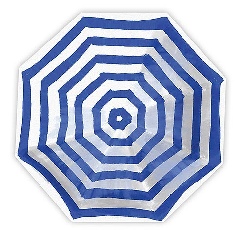 #11792 Blue Umbrella Napkins