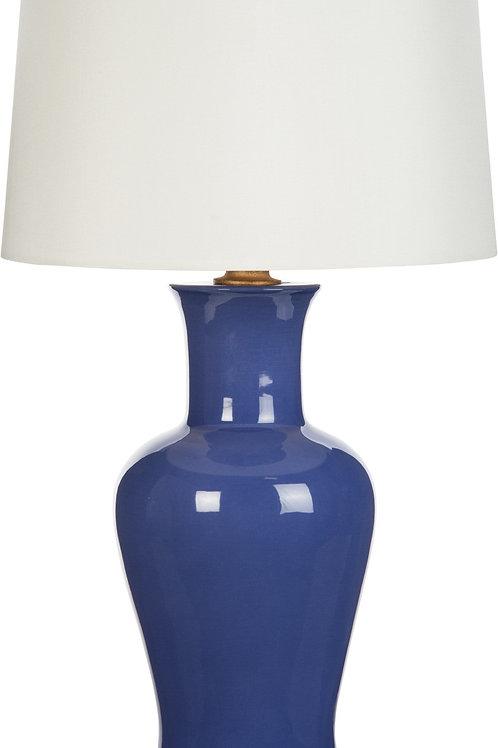 #3858 Amelie Dark Periwinkle Lamp