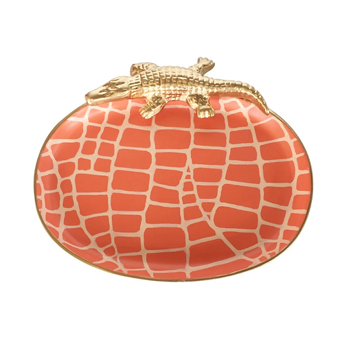 #5583 SM Croc Tray (Orange)