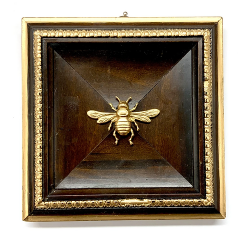 #9850 Wooden Frame with Italian Bee