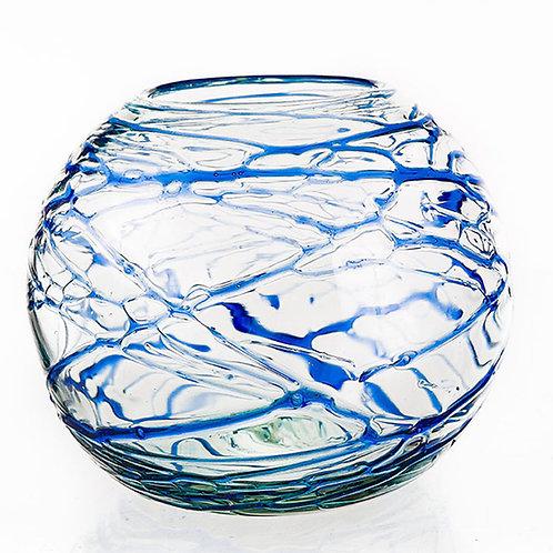 #10750 Fish Bowl (Cobalt Cobwebs)