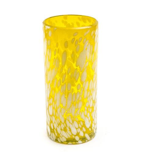 #10748 Glass Cylinder (Ocean Lemon)